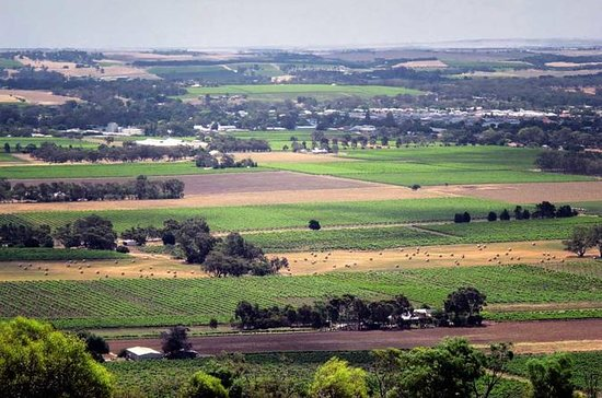 Northern Barossa Valley from Adelaide...