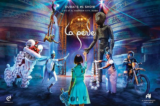 La Perle by Dragone Admission Ticket...