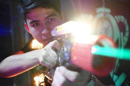 Expérience de combat au laser à Johor...