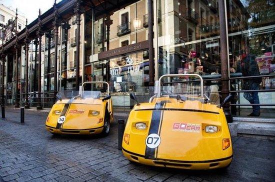 Gira GoCar guiada por GPS en Madrid...