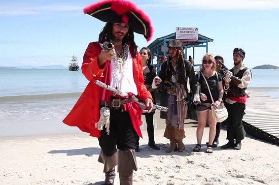 Viaje en el barco pirata Black Pearl...