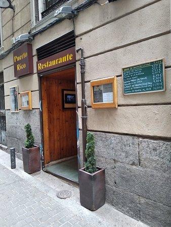 restaurante puerto rico madrid centro restaurant