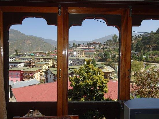 Mongar, Bhutan: corner room