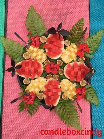 Bukit Lawang Guide: Day 2 fruit platter