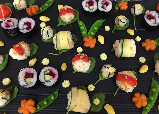 Japan Foods'n Booze: If you are a vegetarian, why don't you try this vegetarian sushi?