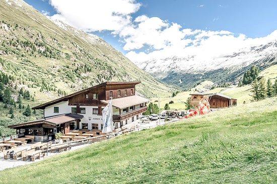 Klettersteig Zirbenwald : Dir zirbenalm direkt am zirbenwald und klettersteig ist nur