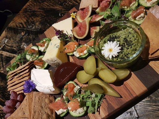 Catering platter for 6