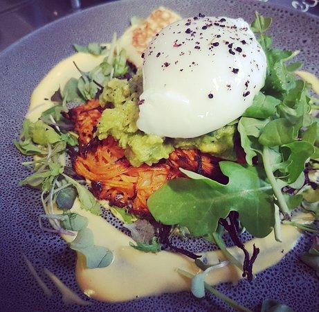 Earthy Eats: From Our Breakfast Menu: Brekkie Stack (V, GF)