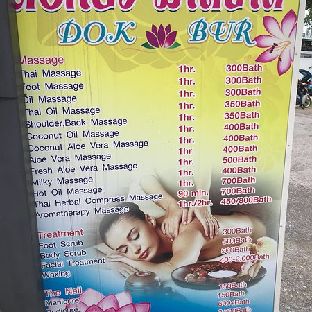 Dokbua Massage