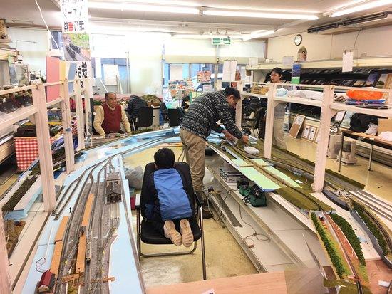 Hitachinaka, Japan: 2016年ごろ レイアウトをみんなで構築
