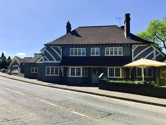 Meopham, UK: The new look exterior