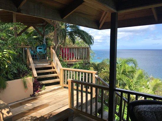 Castara, Tobago: View from Birdsong