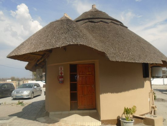 Nata, Botswana: One of our Challets
