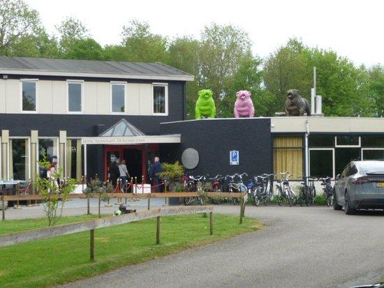 Aardenburg, Países Bajos: entree hotel