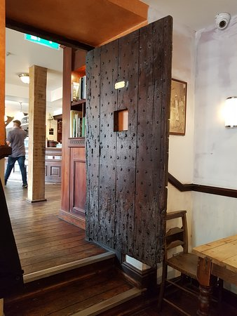 Punch House: The old prison door