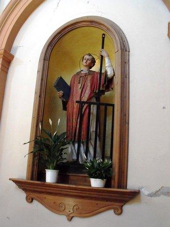 Statua del Santo titolare