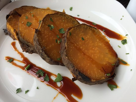 Curral das Freiras, Portugalia: Sweet potato with sugar cane honey