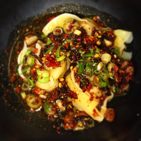 Supernormal: chicken and prawn dumplings