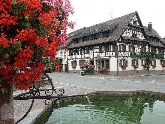 Boetzingen, Alemanha: Ansicht unseres Hauses bald 500 Jahre alt