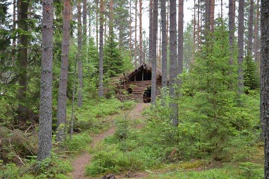 เวตแลนดา, สวีเดน: Grillplatser vid promenadvägen i Illharjens Naturreservat