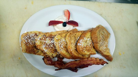 Dryden, كندا: Texas french toast
