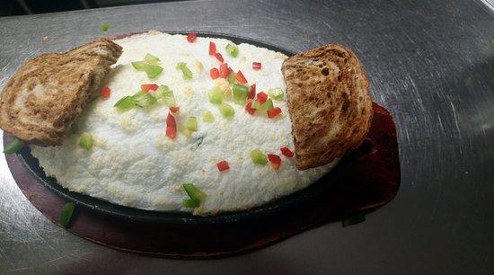 Dryden, Canada: healthier option - Egg white Frittata
