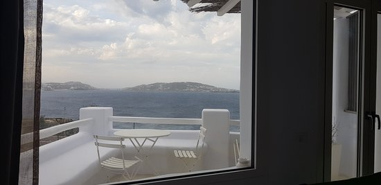 Rocabella Mykonos Hotel & SPA: View from our suite!
