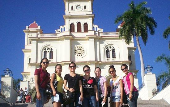 El Cobre, Cuba: Con mis antiguos compañeros de Universidad.