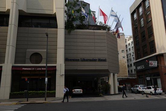 Sheraton Libertador Hotel: Entrance