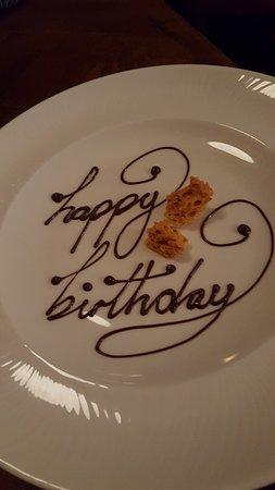 Chocolately birthday wishes!!