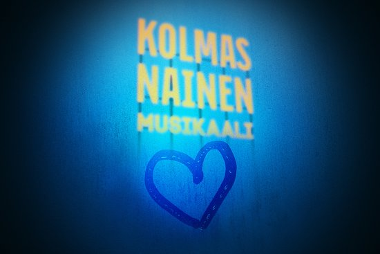 Seinajoki, Finland: Kolmas nainen musikaali Seinäjoella !