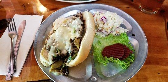Bonnie Springs Ranch Restaurant: Philly Steak & Cheese