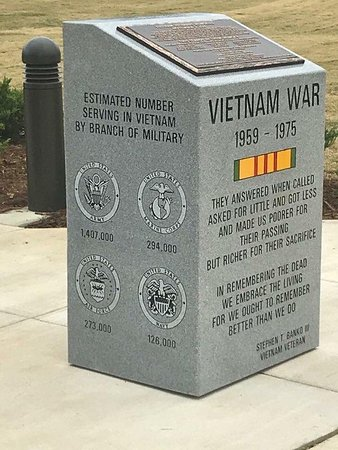 Tupelo, MS: Monument at Vietnam Replica Wall
