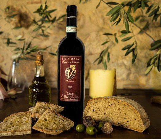 Rosso di Montalcino biodynamic DOC wine