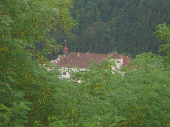 Stubenberg am See, ออสเตรีย: Ausblick auf das Schloss