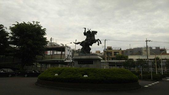 Nitta Yoshisada Statue