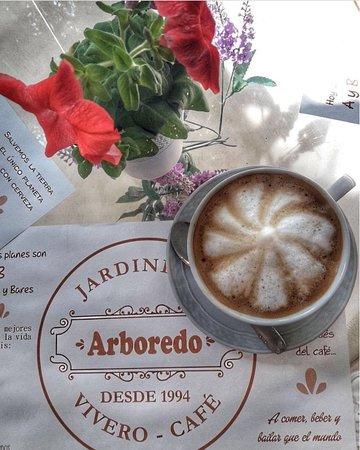 San Lorenzo, Argentyna: Cafe Delicioso!