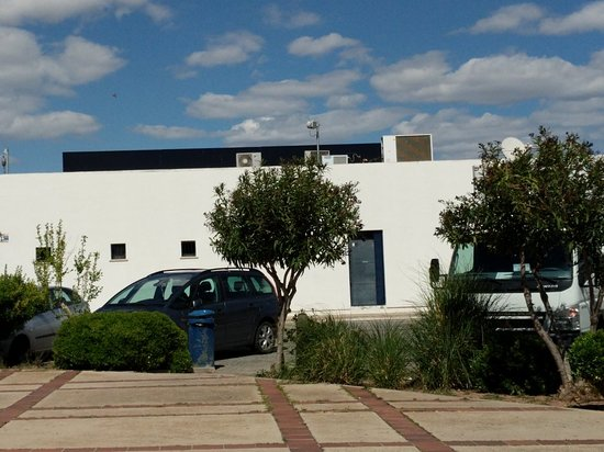 Caudete, Espagne : Foto desde la terraza del Restaurante