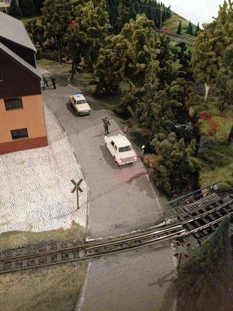 Thermalbad Wiesenbad, Germany: Verkehrskontrolle