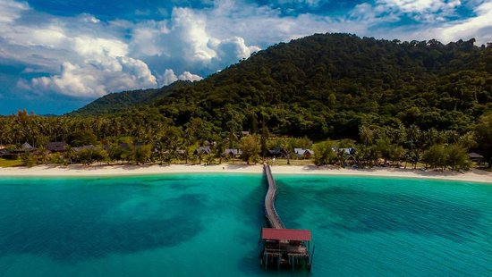 ‪‪Pulau Besar‬, ماليزيا: Bayu Lestari Island Resort Jetty‬