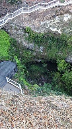 Umpherston Sinkhole: sinkhole lookout