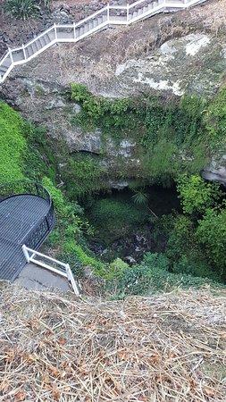 Umpherston Sinkhole: Sinkhole caves