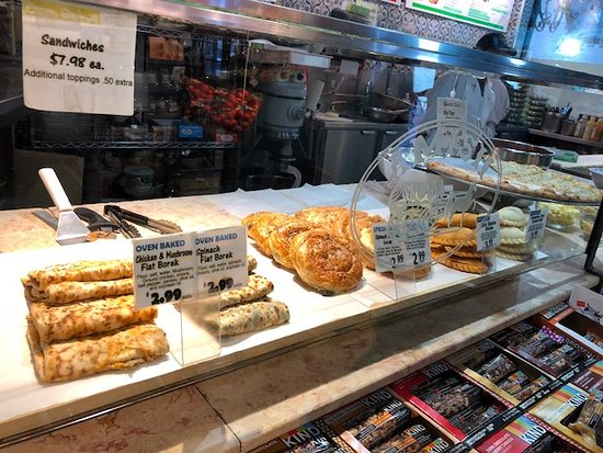 Amish Market East: Vista de algunos panes