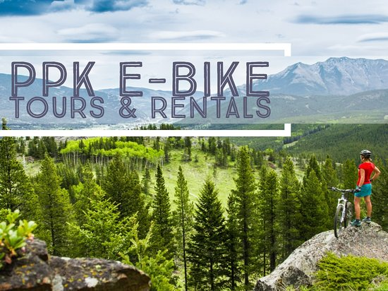 Blairmore, Canada: Electric Bike Tours & Rentals