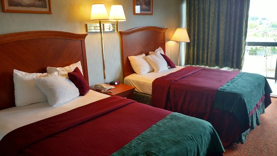 Downtown Inn & Suites: Double bed room