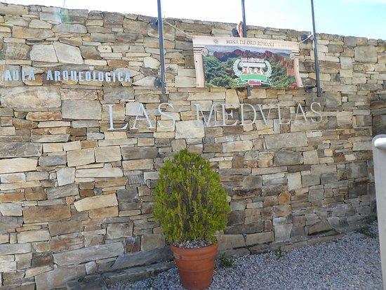 Las Medulas, Hiszpania: Eingangsbereich