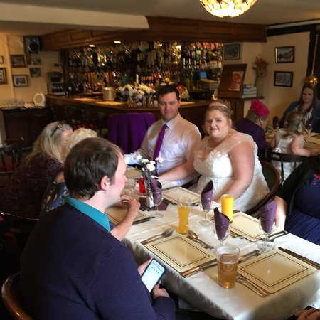 Much Birch, UK: One of our lovely wedding parties