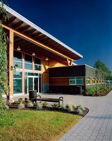 Front entrance to the Surrey Visitor Centre