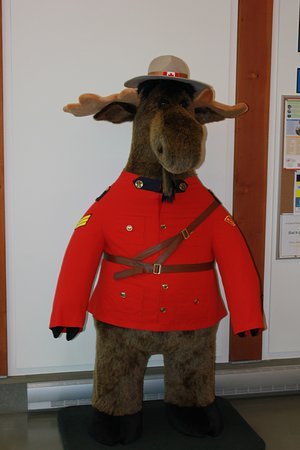 Surrey, Canada: Dudley the Moose makes for great photo ops