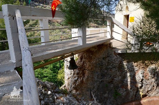 Fres, اليونان: entre les deux rocs